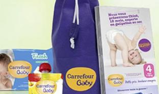 Cadeaux Carrefour : 100 000 vanity bébé gratuits