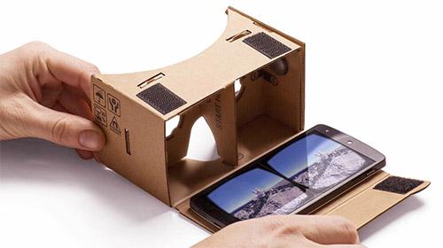 Recevez gratuitement à votre domicile une visionneuse Cardboard
