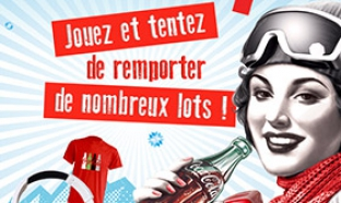 Concours Auchan : Objets Coca-Cola collector offerts