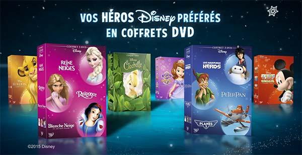 Coffrets DVD Disney à gagner