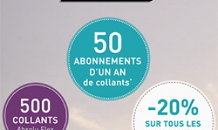 Jeu Instants Gagnants Dim : 1100 collants Absolu Flex à gagner