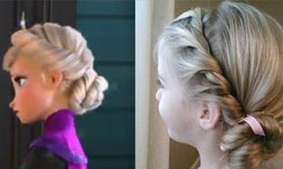 Astuce Tutoriel pour réaliser la coiffure de Elsa