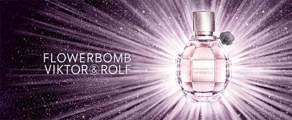 échantillon du parfum Viktor & Rolf Flowerbomb