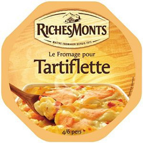 3 fromages tartiflette RichesMonts gratuits : ODR + Remise