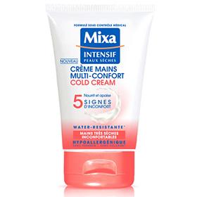 Crème mains Mixa au Cold Cream : 200 produits à gagner