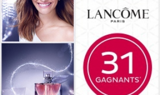 Parfums gratuits Lancôme à gagner par tirage au sort