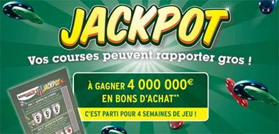 Grand Jeu Jackpot Intermarché