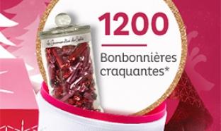 1200 bonbonnières ... à gagner avec Nocibé