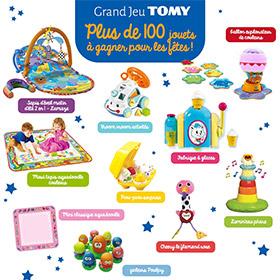 Jeu concours Parents : 144 jouets Tomy à gagner