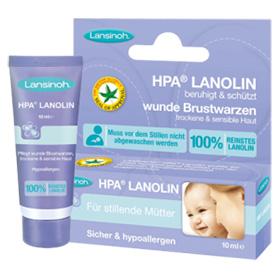 Échantillon de crème allaitement lanolin de Lansinoh