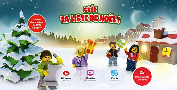 Jeu concours de Noël Lego