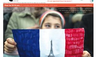 Le Petit Quotidien gratuit, spécial attentats pour les enfants