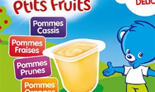 échantillon test Nestlé Bébé P'tits Fruits