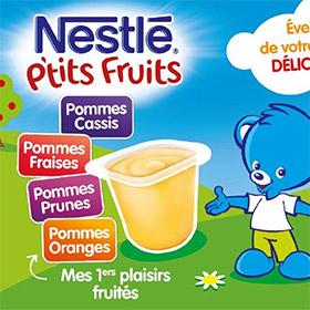 Testez les P'tits Fruits de Nestlé Bébé : 1500 packs gratuits