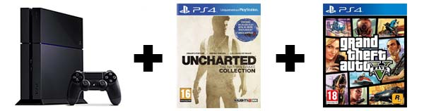 PACK GTA 5 + UNCHARTED