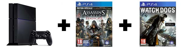 PACK ASSASSIN'S CREED SYNDICATE + WATCH DOGS