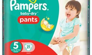Test de culottes Pampers Baby-Dry Pants : 100 packs gratuits