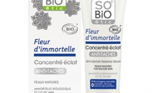 Testez le soin visage anti-tâches de So'Bio étic : 100 gratuits