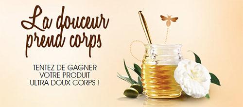 Instants Gagnants Garnier : 510 laits pour le corps Ultra DOUX