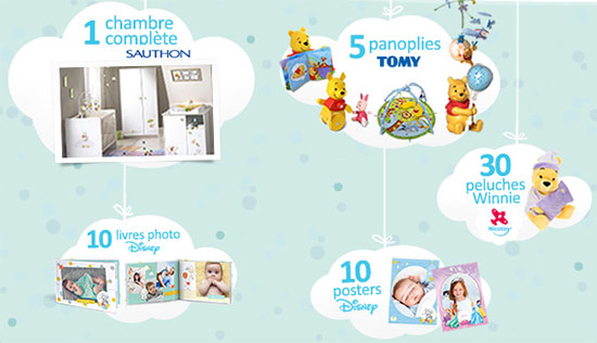 Cadeaux Disney Baby