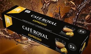 échantillons Café Royal