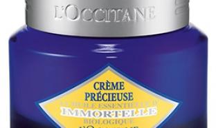 Testez la crème Précieuse Immortelle L'Occitane : 50 gratuites