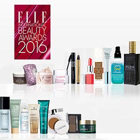 ELLE Beauty Awards 2016 : 5 coffrets de 19 produits à gagner
