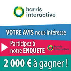 Harris Interactive : Participez à des tests et gagnez de l'argent