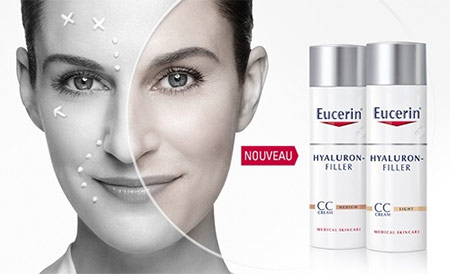 Testez gratuitement la CC Cream Hyaluron-Filler d'Eucerin