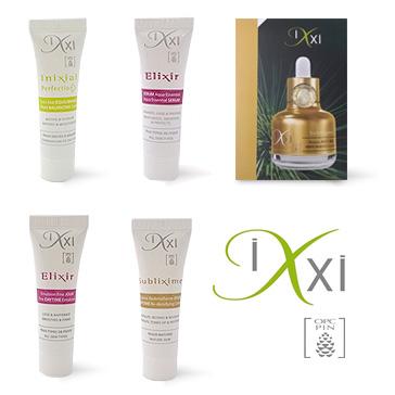 Recevez un échantillon gratuit d'un soin IXXI au choix