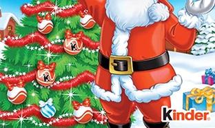 Concours calendrier de l'Avent Kinder Noël 2020 : 613 lots