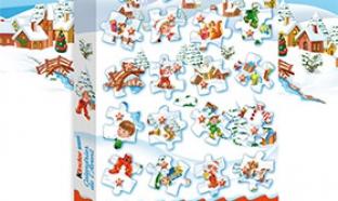 Jeu calendrier de l'Avent Kinder Noël 2015 : 1200 lots