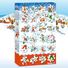 Calendrier De Lavent 2019 Kinder.Jeu Calendrier De L Avent Kinder Noel 2015 1200 Lots