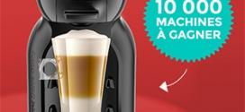 10'000 machines à café Nescafé Dolce Gusto Mini Me à gagner