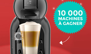 10'000 machines à café Dolce Gusto Mini Me à gagner