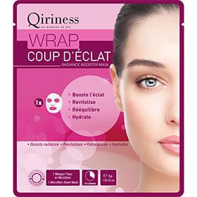 Testez le masque Wrap Coup d'Eclat de Qiriness : 100 gratuits