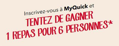 Jeu concours MyQuick