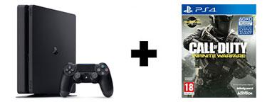 Console PS4 1 To Slim + jeu Call of Duty Infinite Warfare