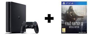 Console PS4 1 To Slim + jeu Final Fantasy XV