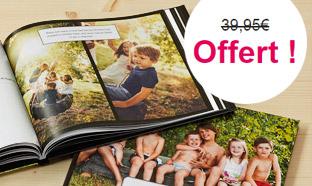 Bon Plan Photobox : Livre Photo Prestige gratuit (hors fdp)