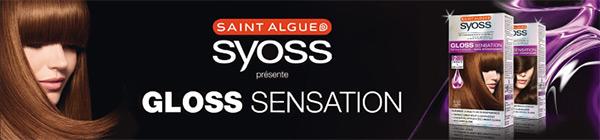 Testez gratuitement les colorations Syoss Gloss Sensation de Saint Algue