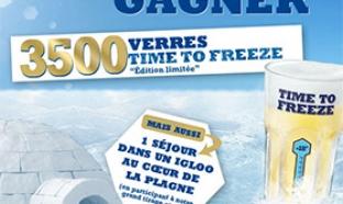 Jeu Hoegaarden Time To Freeze