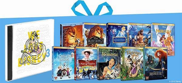 10 packs Best Of We Love Disney 3 à gagner