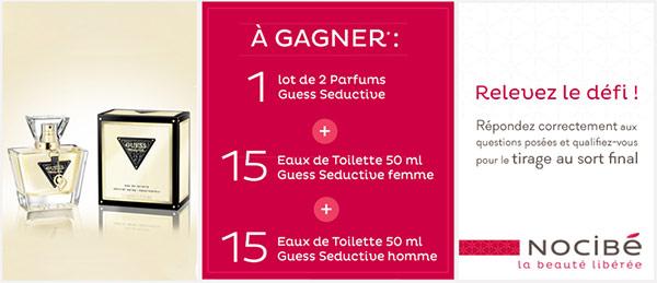 32 parfums guess seductive gagner au jeu mon noci quiz. Black Bedroom Furniture Sets. Home Design Ideas