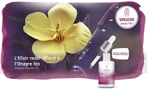 Testez gratuitement L'Elixir redensifiant de Weleda