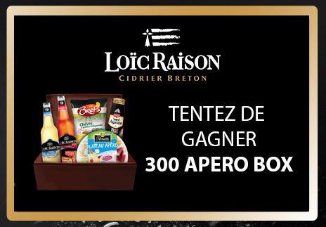 300 paniers bretons à remporter pour l'apéritif avec Loïc Raison
