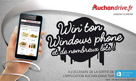 Tentez de remporter votre Windows phone