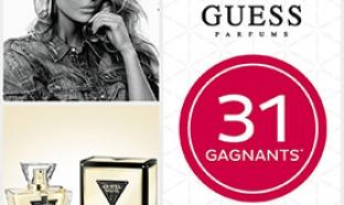 Jeu Mon Noci-Quiz pour des parfums GUESS Seductive