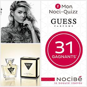32 parfums Guess Seductive à gagner au jeu Mon Noci-Quiz