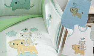 Soldes Becquet : Parure de lit bébé à 35.88€ (au lieu de 159.70€)
